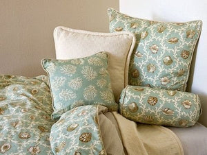Island Shells Twin Duvet Cover - Nautical Luxuries