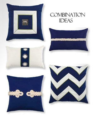 Cruise Grommet Sunbrella® Outdoor Pillows - Nautical Luxuries