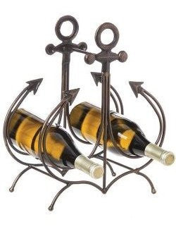 Ship's Anchor Wine Rack