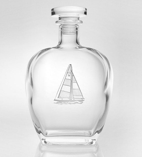 Captain's Whiskey Decanters