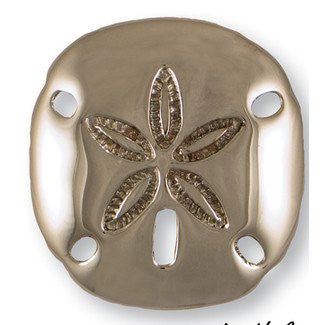 Beach Cottage Sand Dollar Door Knocker