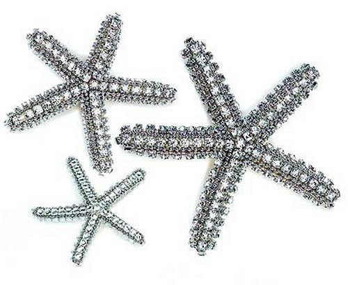 Swarovski Crystals Starfish Accents