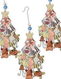 Metalcraft Collection: Beach Christmas Tree Ornament Set