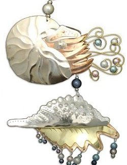 Metalcraft Collection: Exotic Sea Gems Ornament Set