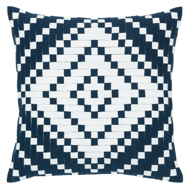 Diamond Basketweave Sunbrella® Outdoor Pillows - Nautical Luxuries