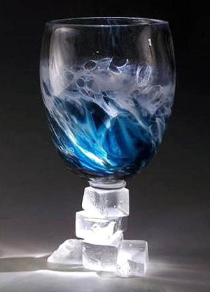 Caleb Nichols Offshore Southern Ocean Glass Sculpture - Nautical Luxuries
