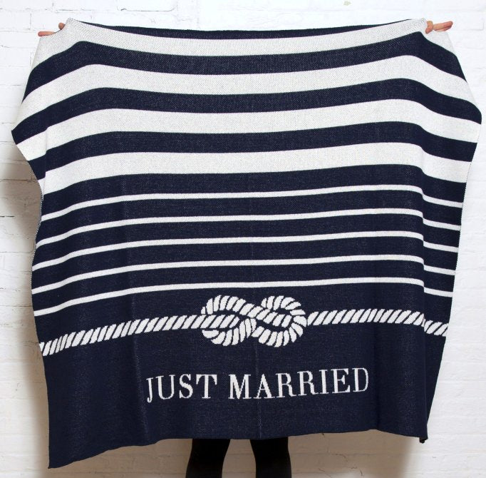 Just Married Eco-Conscious Throw