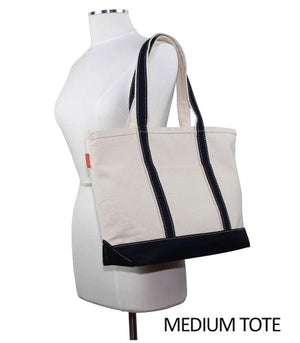 Classic Canvas Boat Tote - Nautical Luxuries
