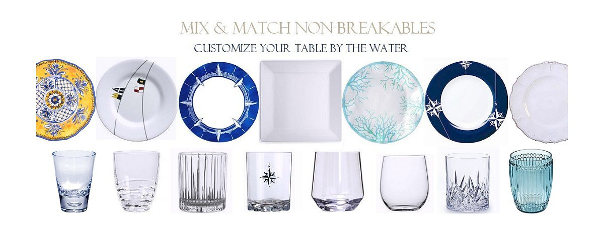 outdoor entertaining nonbreakable acrylic glasses