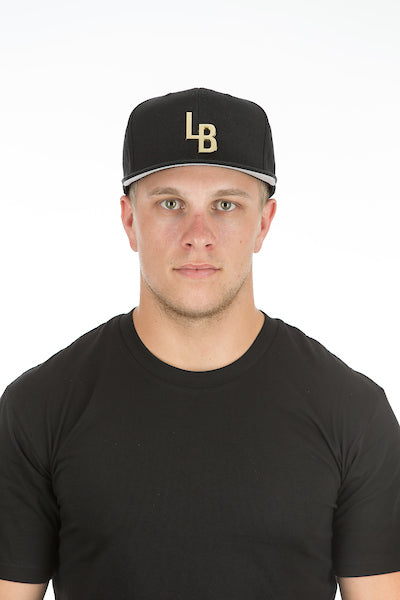 LB GOLD / BLACK BASEBALL SNAP