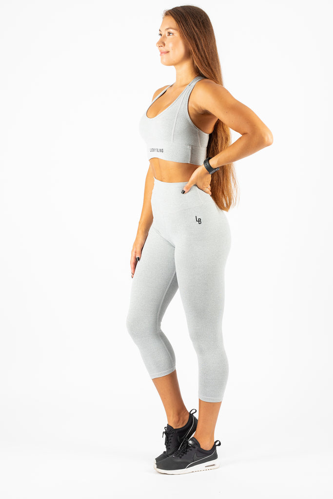 3/4 Leggings Grey