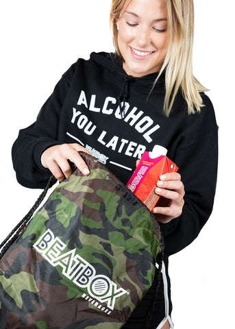FESTIVAL SATCHEL - Drawstring Bag Camo