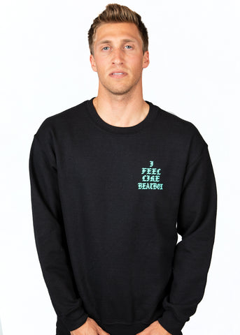PICASSO - L/S Crewneck Sweater Black