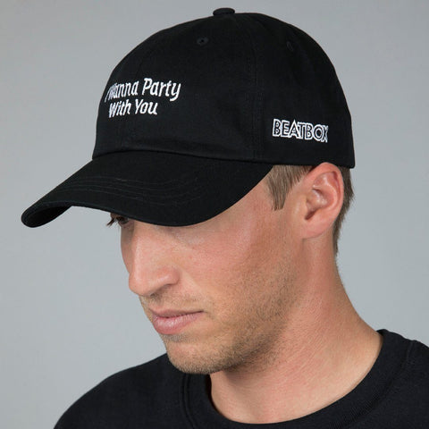 I WANNA PARTY - Strap Back Hat