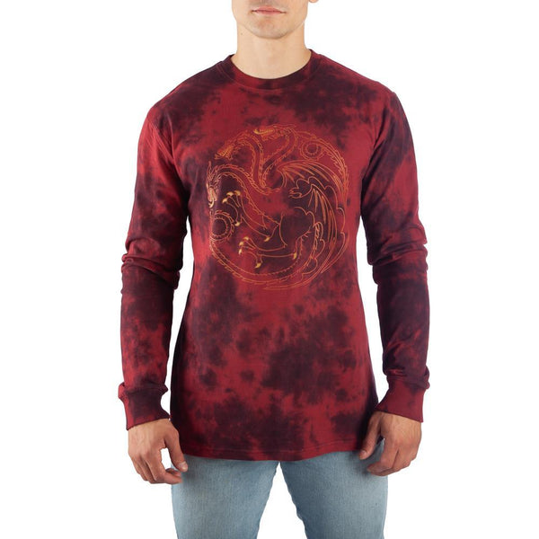 Game of Thrones Long Sleeve Shirt Targaryen T-Shirt Game of Thrones Shirt