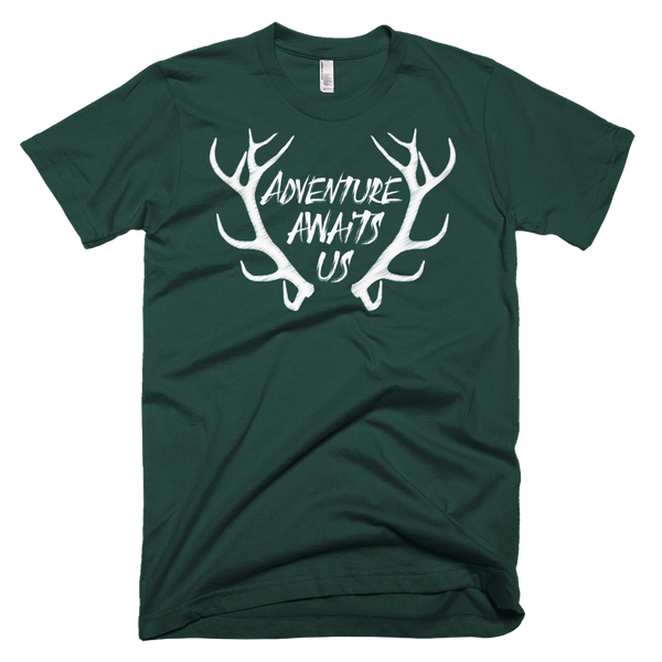 Adventure Awaits Us Men's T-Shirt