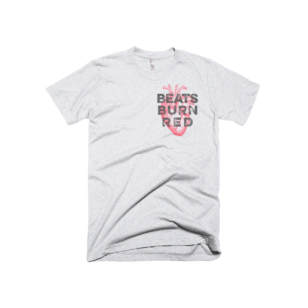 Beats Burn Red Men's T-Shirt