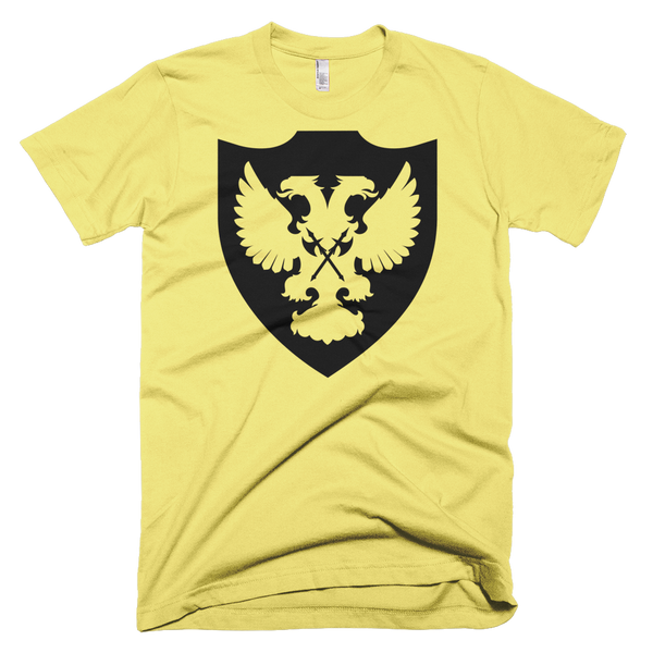 Black & Gold Shield Men's T-Shirt
