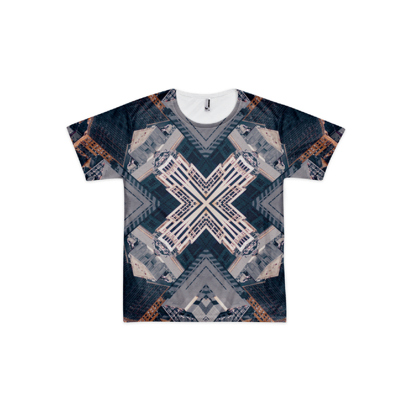 NYC Abstraction All-Over T-Shirt