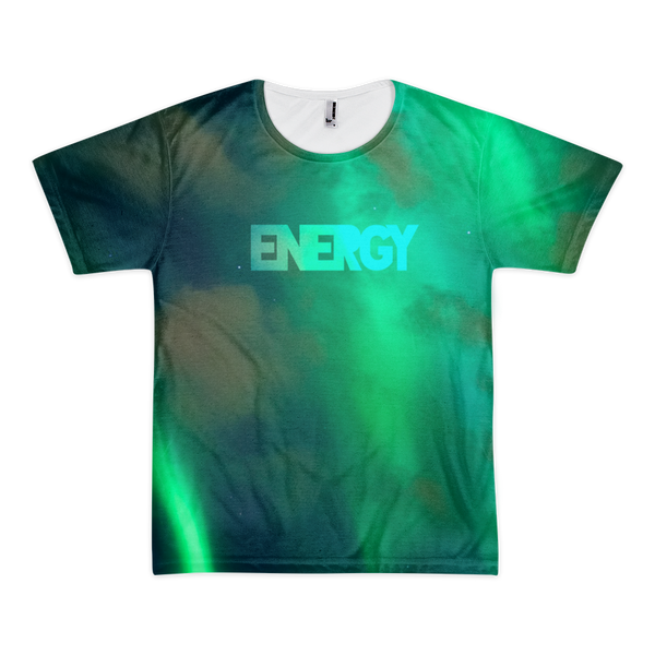 Energy Aurora Borealis All-Over T-Shirt