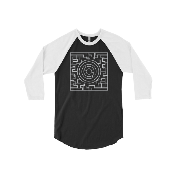 Labyrinth 3/4 Sleeve Raglan Shirt