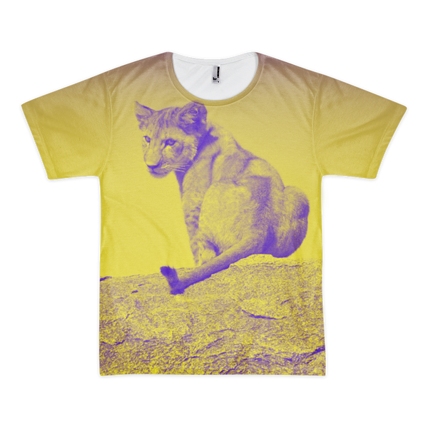 Lion Cub at Serengeti All-Over T-Shirt