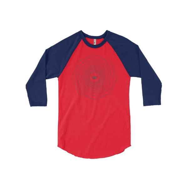 Royal Madness 3/4 Sleeve Raglan Shirt