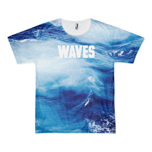 WAVES All-Over T-Shirt