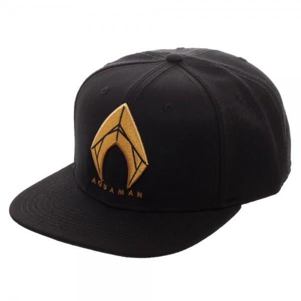 Aquaman Icon Embroidered Snapback