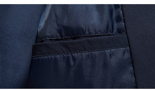 Morgan Navy Bomber Jacket