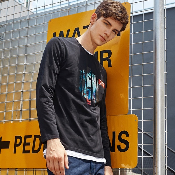 Levers Off Long Sleeves T-Shirt