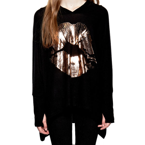 Queen Yard Gold Kiss Sweater