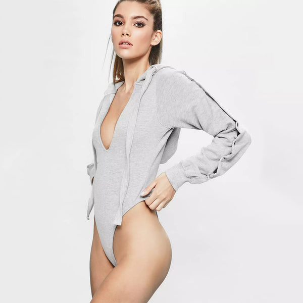 Agnes Grey Bodysuit