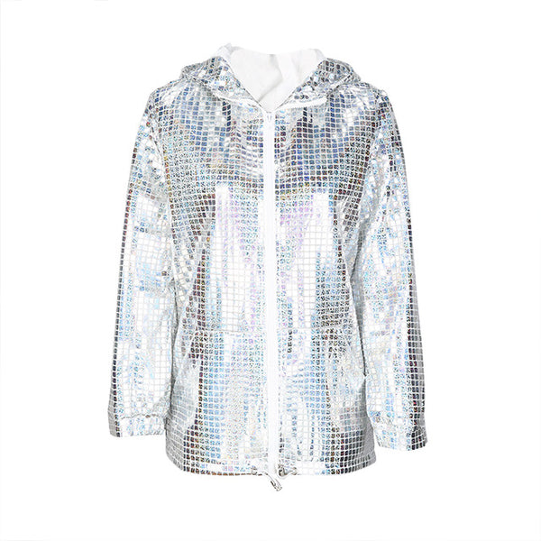 Dalva Silver Light Jacket