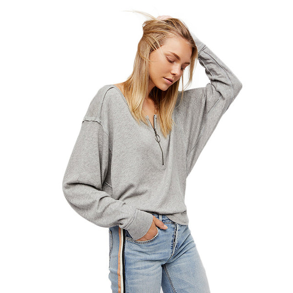 Slant Loose Sweatshirt