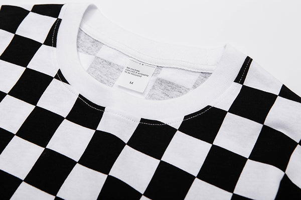 INFLATION Checked Over-sized Tee