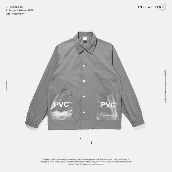 INFLATION PVC Windbreaker Jacket