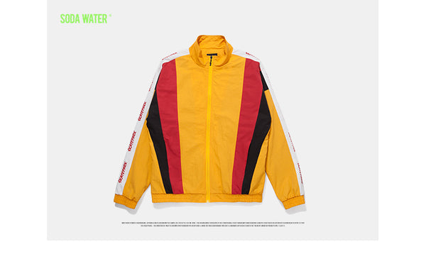 SODA WATER Skate Park Patchwork Jacket