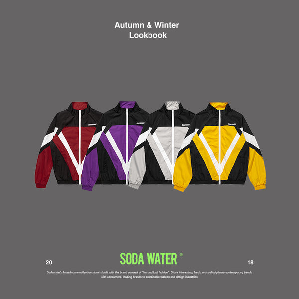 SODA WATER Patchwork Jacket