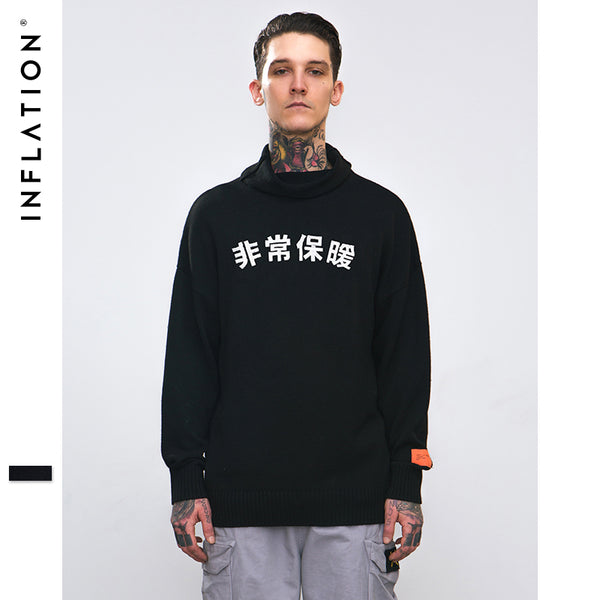 INFLATION Pullover Sweater