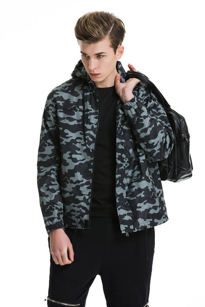 Mind Drop Camo Windbreaker