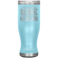ALL WOMEN, LEARN KUK SOOL WON Gift For Korean Martial Arts Teacher Student * Skinny Boho Vacuum Tumbler 20 oz. - ArtsyMod.com
