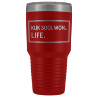 KUK SOOL WON LIFE Gift For Korean Martial Arts Teacher, Students * Vacuum Tumbler 30 oz. - ArtsyMod.com