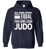 ALL MEN, LEARN JUDO * Heavy Blend Hoodie - ArtsyMod.com