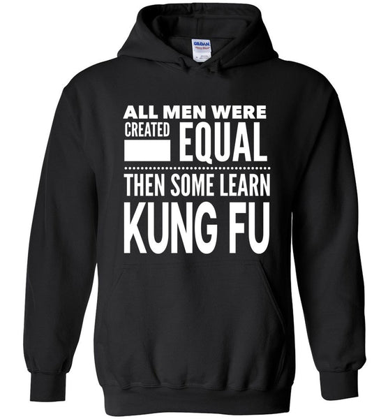 ALL MEN, LEARN KUNG FU * Heavy Blend Hoodie - ArtsyMod.com
