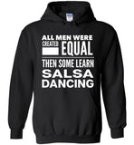 ALL MEN, LEARN SALSA DANCING Gift For Dancers * Heavy Blend Hoodie - ArtsyMod.com