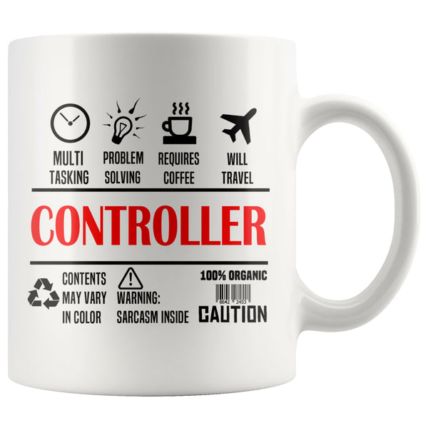 Corporate CONTROLLER * Unique Professional Gifts * White Coffee Mug 11oz. - ArtsyMod.com