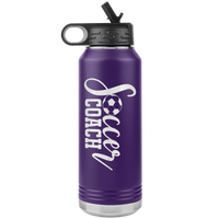 SOCCER COACH * Water Bottle Tumbler 32 OZ.