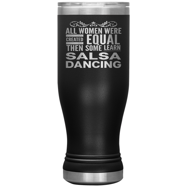 ALL WOMEN, LEARN SALSA DANCING Gift For Dancer, Dance Teacher Student * Boho Vacuum Tumbler 20 oz. - ArtsyMod.com