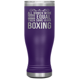 ALL WOMEN, LEARN BOXING Gift For Boxer Coach Student * Skinny Boho Vacuum Tumbler 20 oz. - ArtsyMod.com